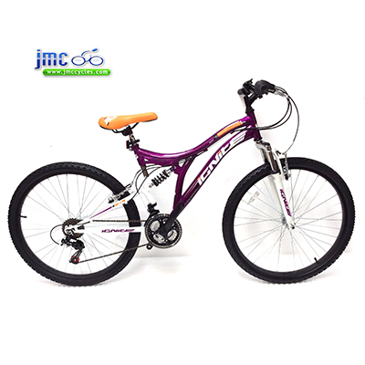 Ignite-Sapphire-XL--Ladies-26inch-Full-Suspension-Mountain-Bike